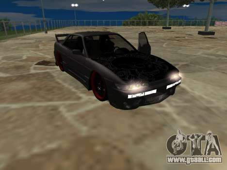 Nissan s13 stock fusion for GTA San Andreas