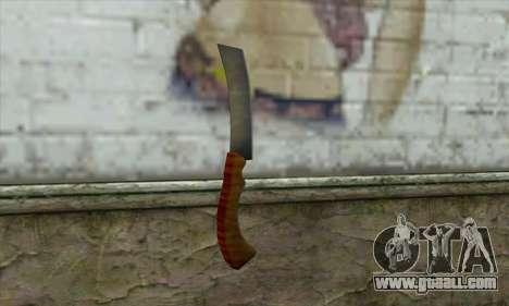 Razor for shaving for GTA San Andreas second screenshot