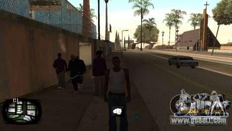 C-HUD Kings of Rap for GTA San Andreas