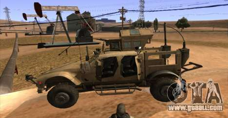 M-ATV из Call of Duty: Ghosts for GTA San Andreas back view