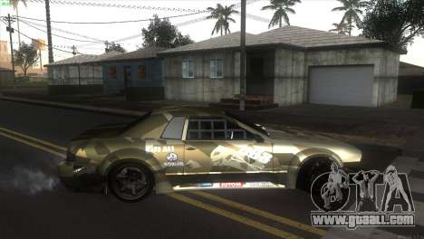 Elegy Fail Crew by Black for GTA San Andreas left view