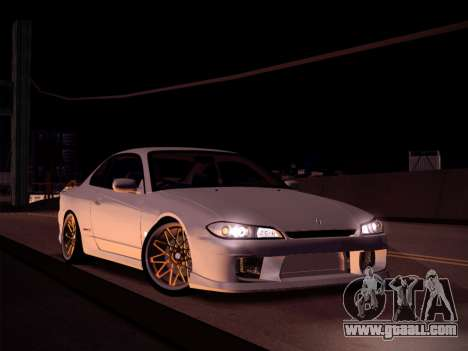 Nissan Silvia S15 Stanced for GTA San Andreas