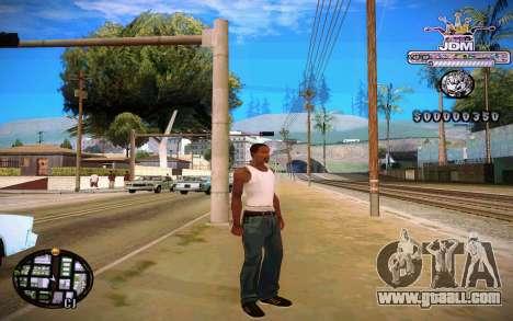 C-HUD JDM for GTA San Andreas