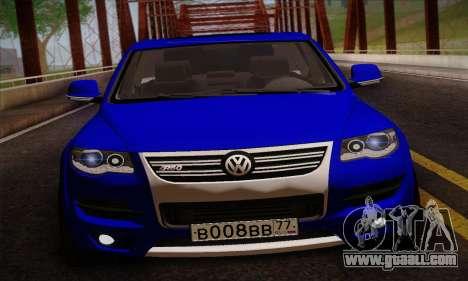 Volkswagen Touareg 2010 for GTA San Andreas back left view