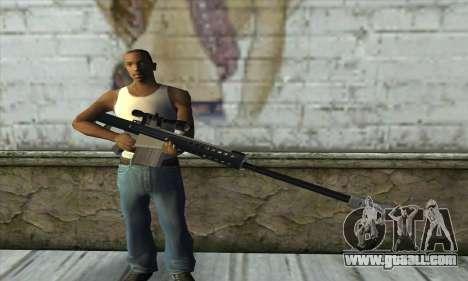 Barrett M82 for GTA San Andreas third screenshot