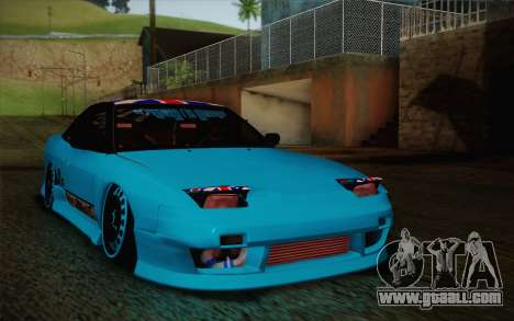 Nissan 240SX Drift Stance for GTA San Andreas left view