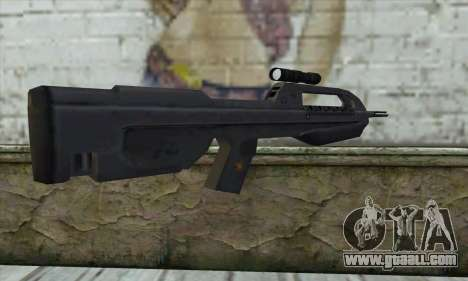 Halo 2 Battle Rifle for GTA San Andreas second screenshot