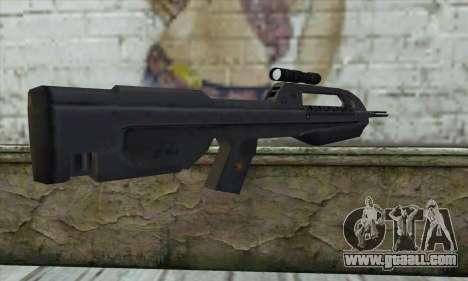 Halo 2 Battle Rifle for GTA San Andreas second screenshot
