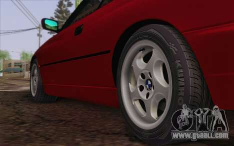 BMW 850CSi E31 1996 for GTA San Andreas back left view