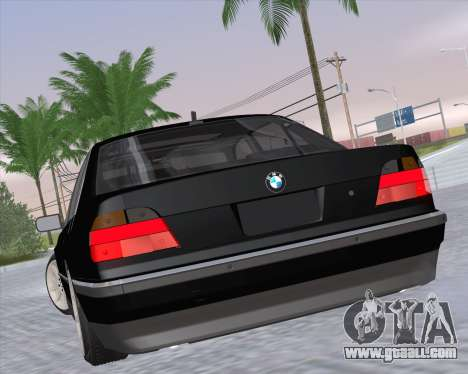 BMW 7-series E38 for GTA San Andreas left view