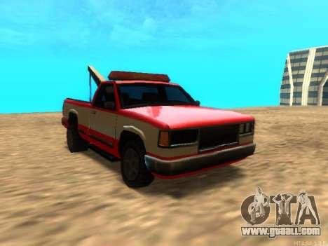New Tow (Yosemite) for GTA San Andreas