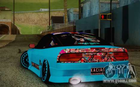 Nissan 240SX Drift Stance for GTA San Andreas right view