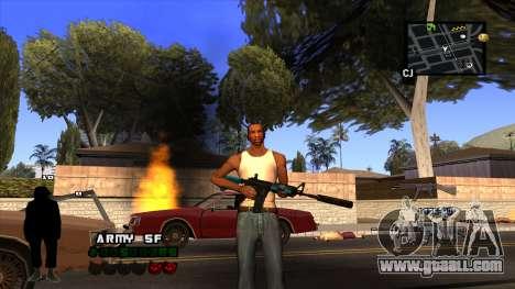 C-HUD Army for GTA San Andreas forth screenshot