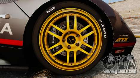 Pagani Zonda C12 S Roadster 2001 PJ4 for GTA 4 back view