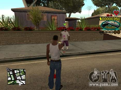 C-HUD Guns for GTA San Andreas forth screenshot