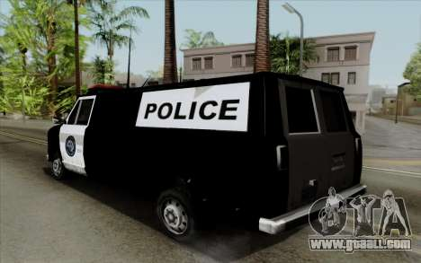 S.W.A.T van for GTA San Andreas left view