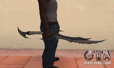 The sword of Skyrim for GTA San Andreas third screenshot