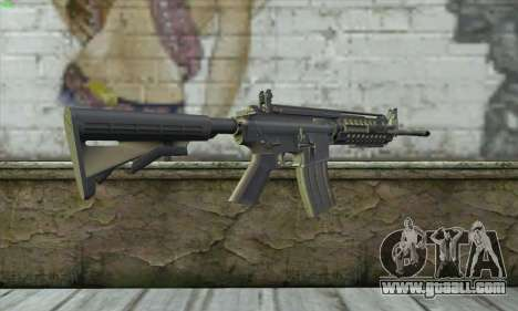 M4A1 S - System for GTA San Andreas second screenshot