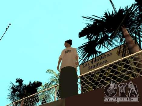 Skin Tracer GPF Team for GTA San Andreas second screenshot