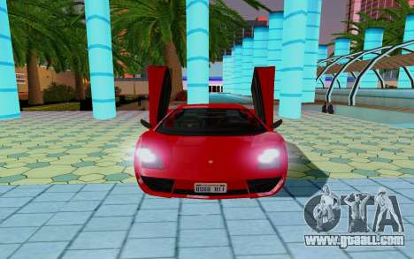 GTA 5 Pegassi Vacca for GTA San Andreas side view