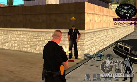 C-HUD Army for GTA San Andreas third screenshot