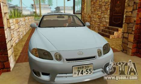 Lexus SC300 v1.01 [ImVehFT] for GTA San Andreas back view