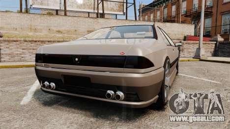 Vapid Fortune GTRS v2.0 for GTA 4 back left view