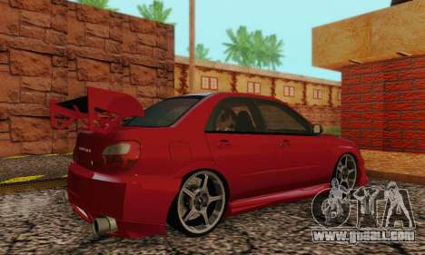 Subaru Impreza WRX Stock for GTA San Andreas right view