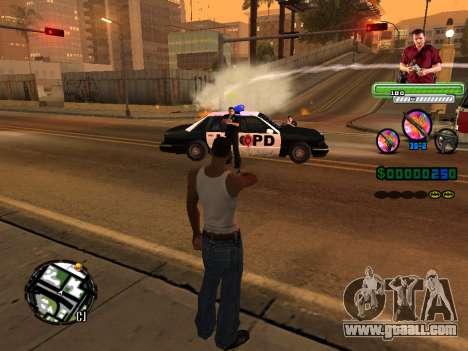 C-HUD Michael (GTA V) for GTA San Andreas fifth screenshot