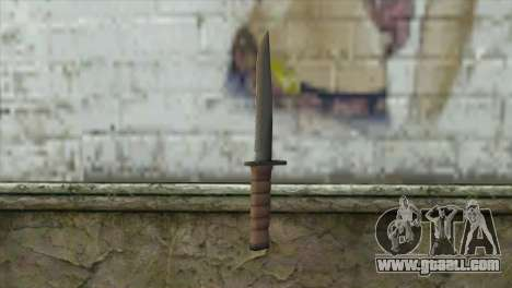 KA-BAR Knife for GTA San Andreas