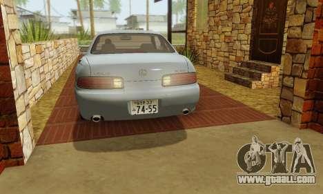 Lexus SC300 v1.01 [ImVehFT] for GTA San Andreas side view