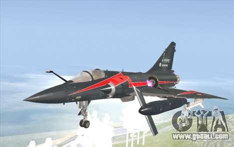Dassault Mirage 2000-C for GTA San Andreas