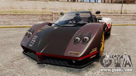 Pagani Zonda C12 S Roadster 2001 PJ4 for GTA 4