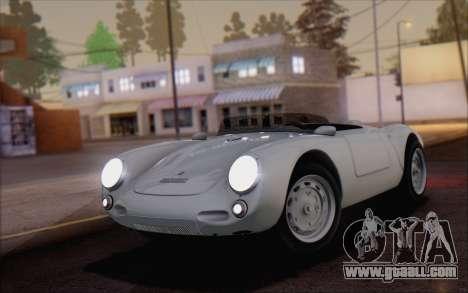 Porsche 550 Spyder 1955 for GTA San Andreas