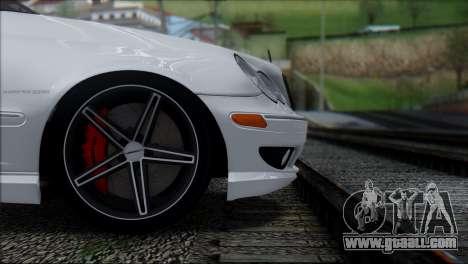 Mercedes-Benz C32 Vossen for GTA San Andreas back view
