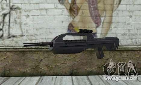 Halo 2 Battle Rifle for GTA San Andreas