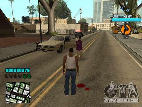 C-HUD new A.C.A.B for GTA San Andreas forth screenshot