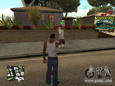 C-HUD Guns for GTA San Andreas third screenshot