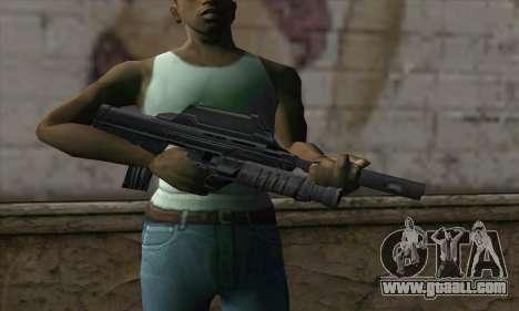 SC-20K Assault Rifle for GTA San Andreas third screenshot