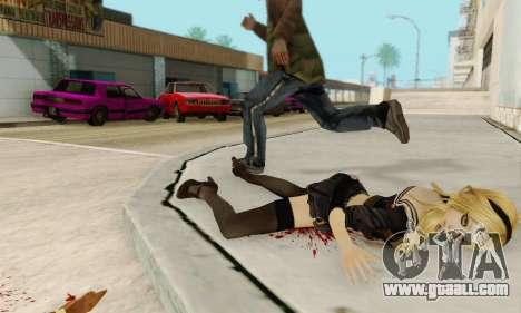 Babydoll Skin for GTA San Andreas ninth screenshot