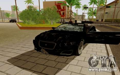 GTA 5 Lampadati Felon GT V1.0 for GTA San Andreas left view