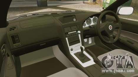 Nissan Skyline GT-R NISMO S-tune Amuse Carbon R for GTA 4 inner view