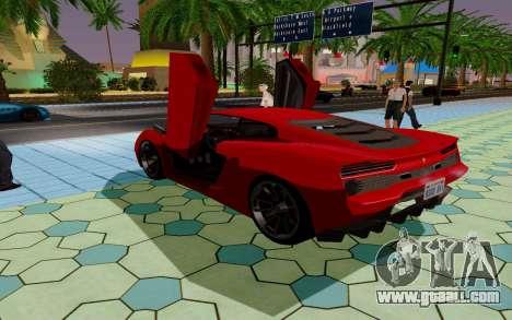 GTA 5 Pegassi Vacca for GTA San Andreas upper view