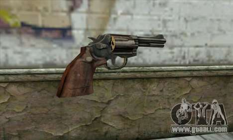 ManHunt revolver for GTA San Andreas second screenshot