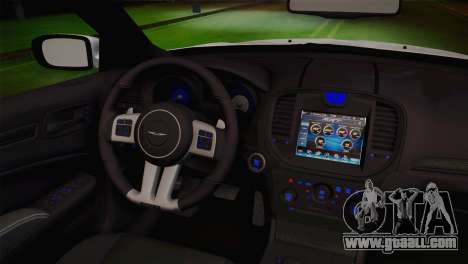 Chrysler 300 SRT8 Black Vapor Edition for GTA San Andreas right view