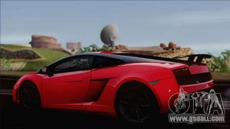 Lamborghini Gallardo LP570-4 Edizione Tecnica for GTA San Andreas left view