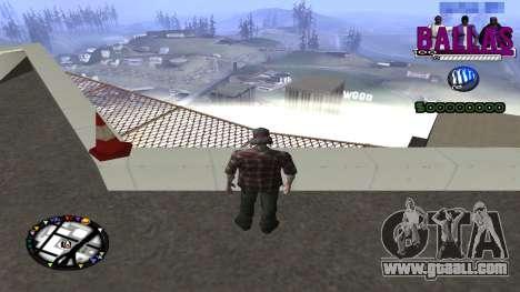 C-HUD Ballas Gang for GTA San Andreas