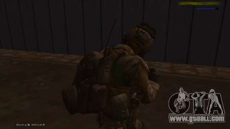 Ranger из Call Of Duty: Ghosts for GTA San Andreas fifth screenshot