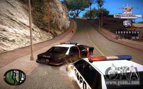 C-HUD JDM for GTA San Andreas forth screenshot