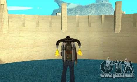 New dam Sherman for GTA San Andreas second screenshot
